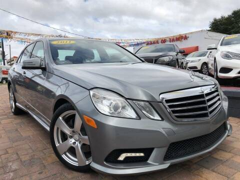 2011 Mercedes-Benz E-Class for sale at Cars of Tampa in Tampa FL