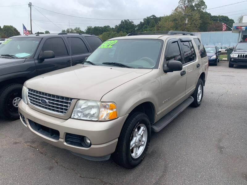 2005 Ford Explorer for sale at Wheel'n & Deal'n in Lenoir NC