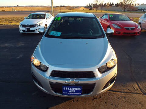 2014 Chevrolet Sonic for sale at G & K Supreme in Canton SD
