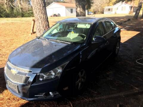 2013 Chevrolet Cruze for sale at EADS AUTO SALES in Arlington TN