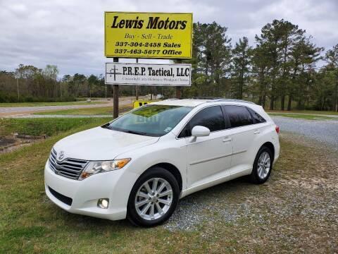 2011 Toyota Venza for sale at Lewis Motors LLC in Deridder LA