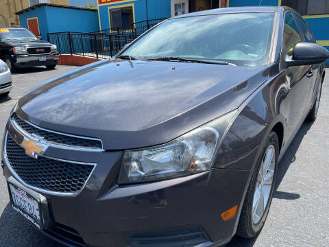 2014 Chevrolet Cruze for sale at CARZ in San Diego CA