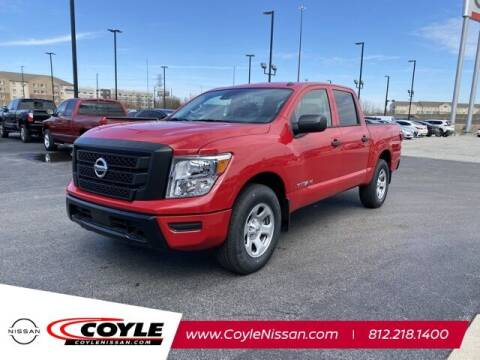 2021 Nissan Titan for sale at COYLE GM - COYLE NISSAN - New Inventory in Clarksville IN