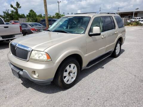 2004 Lincoln Aviator for sale at Jamrock Auto Sales of Panama City in Panama City FL