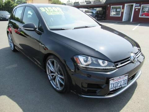 2017 Volkswagen Golf R for sale at Tonys Toys and Trucks in Santa Rosa CA