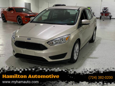 2017 Ford Focus for sale at Hamilton Automotive in North Huntingdon PA