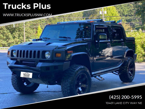 2006 HUMMER H2 SUT for sale at Trucks Plus in Seattle WA