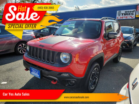 2016 Jeep Renegade for sale at Car Yes Auto Sales in Baltimore MD