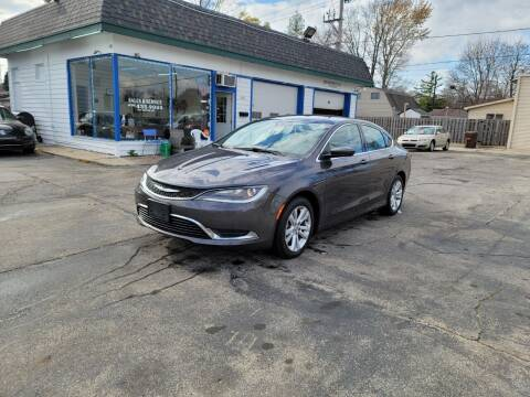 2015 Chrysler 200 for sale at MOE MOTORS LLC in South Milwaukee WI