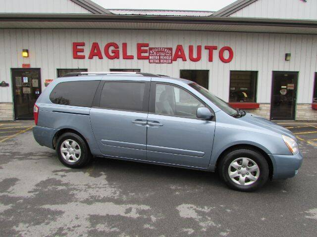 2010 Kia Sedona for sale at Eagle Auto Center in Seneca Falls NY