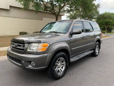 2004 Toyota Sequoia for sale at Presidents Cars LLC in Orlando FL