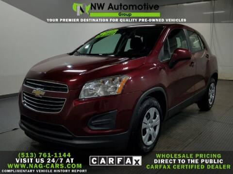 2016 Chevrolet Trax for sale at NW Automotive Group in Cincinnati OH