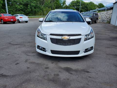 2014 Chevrolet Cruze for sale at DISCOUNT AUTO SALES in Johnson City TN