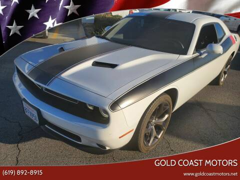 2017 Dodge Challenger for sale at Gold Coast Motors in Lemon Grove CA