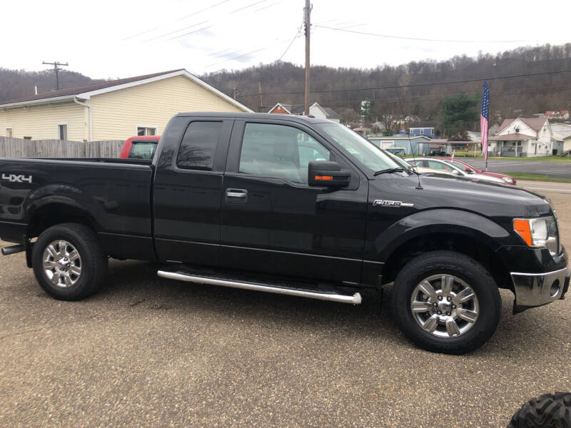 2012 Ford F-150 for sale at MYERS PRE OWNED AUTOS & POWERSPORTS in Paden City WV