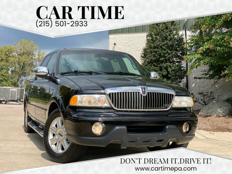 2002 Lincoln Blackwood for sale at Car Time in Philadelphia PA