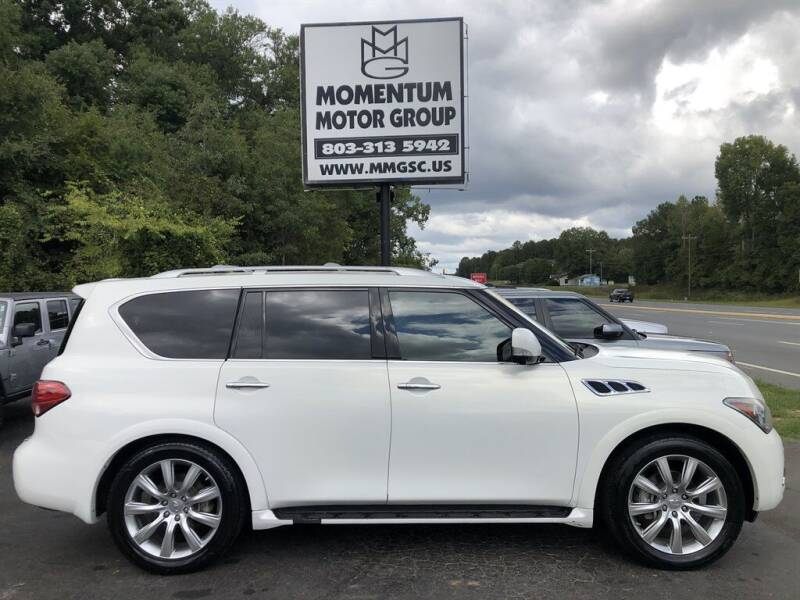 2011 Infiniti QX56 for sale at Momentum Motor Group in Lancaster SC