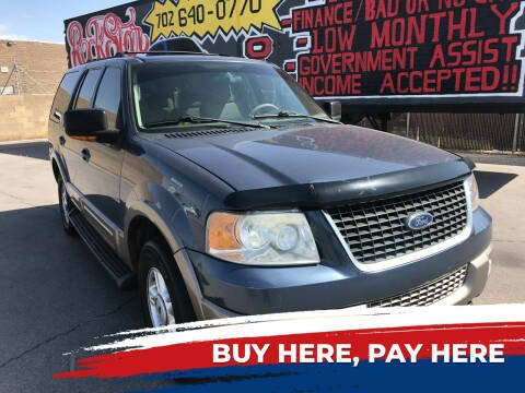 2003 Ford Expedition for sale at Rock Star Auto Sales in Las Vegas NV
