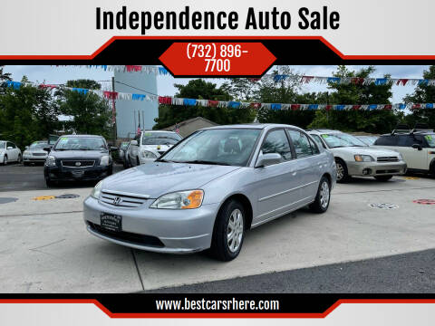 2003 Honda Civic for sale at Independence Auto Sale in Bordentown NJ