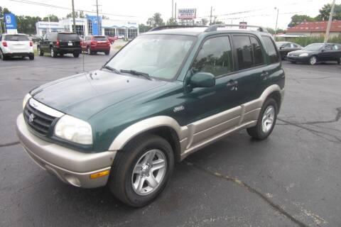 2003 Suzuki Grand Vitara for sale at Burgess Motors Inc in Michigan City IN