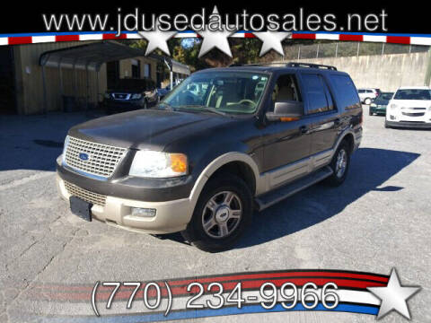 2006 Ford Expedition for sale at J D USED AUTO SALES INC in Doraville GA