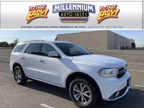 2016 Dodge Durango for sale at Millennium Auto Sales in Kennewick WA