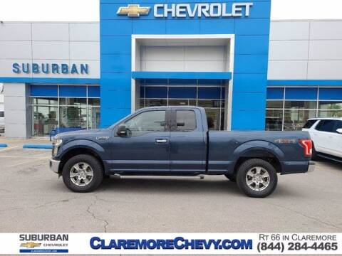 2015 Ford F-150 for sale at Suburban Chevrolet in Claremore OK