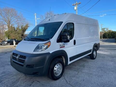 2018 RAM ProMaster Cargo for sale at RC Auto Brokers, LLC in Marietta GA