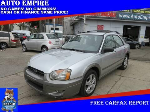 2004 Subaru Impreza for sale at Auto Empire in Brooklyn NY