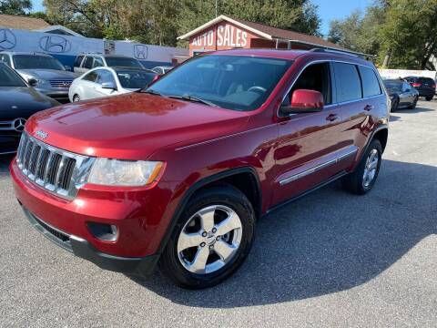 2013 Jeep Grand Cherokee for sale at CHECK  AUTO INC. in Tampa FL