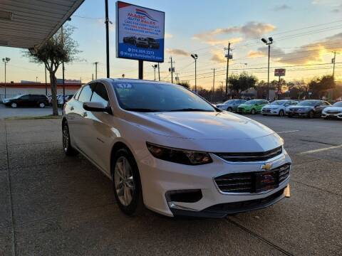 2017 Chevrolet Malibu for sale at Magic Auto Sales in Dallas TX