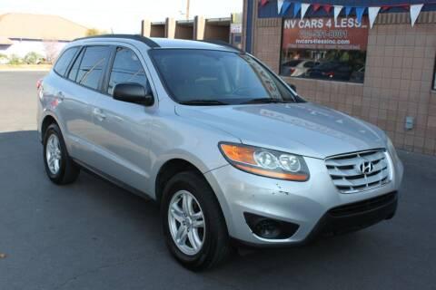 2010 Hyundai Santa Fe for sale at NV Cars 4 Less, Inc. in Las Vegas NV
