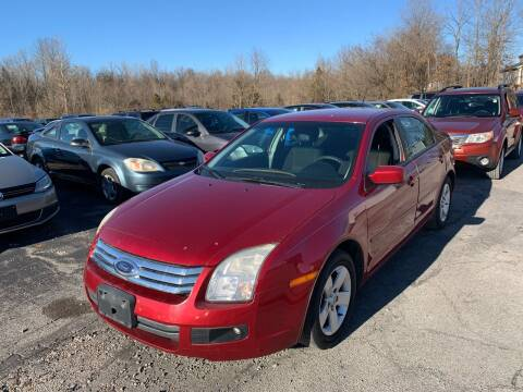 2008 Ford Fusion for sale at Best Buy Auto Sales in Murphysboro IL