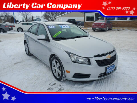 2013 Chevrolet Cruze for sale at Liberty Car Company in Waterloo IA