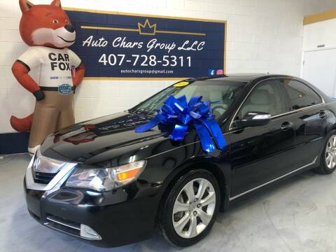 2009 Acura RL for sale at Auto Chars Group LLC in Orlando FL