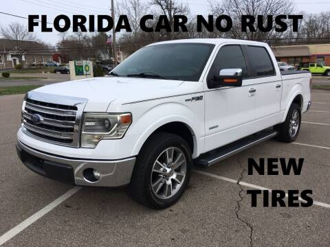 2014 Ford F-150 for sale at Borderline Auto Sales in Loveland OH