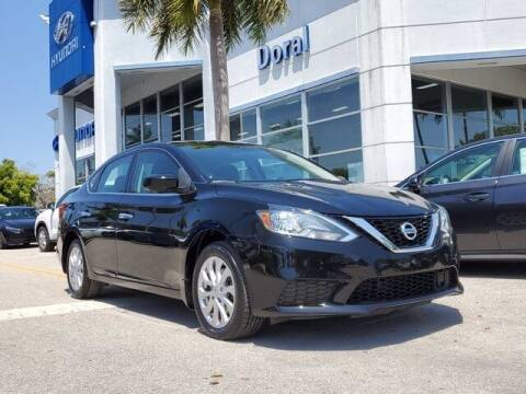 2018 Nissan Sentra for sale at DORAL HYUNDAI in Doral FL