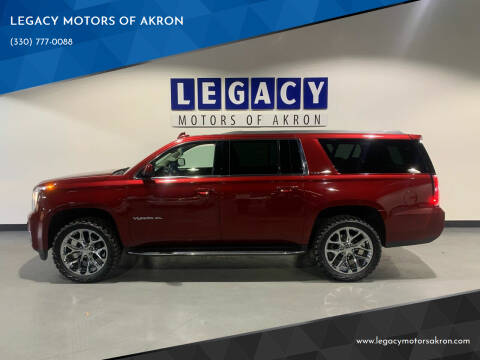 2017 GMC Yukon XL for sale at LEGACY MOTORS OF AKRON in Akron OH
