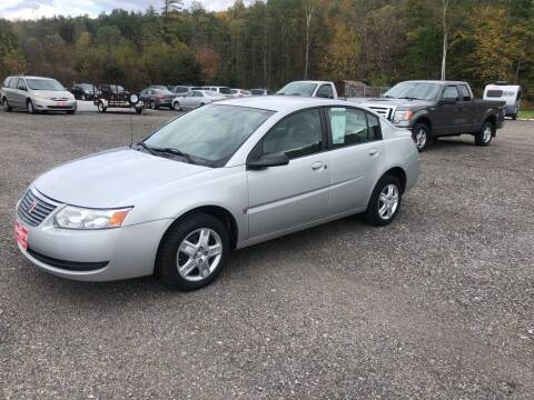 2007 Saturn Ion for sale at DAN KEARNEY'S USED CARS in Center Rutland VT