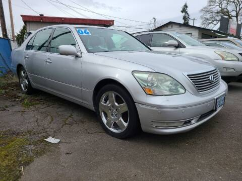 2006 Lexus LS 430 for sale at Universal Auto Sales in Salem OR