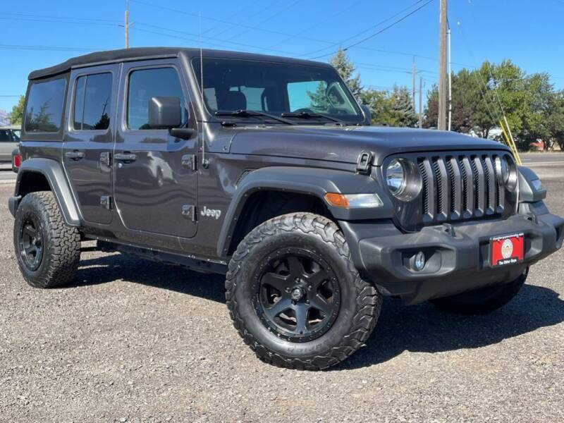 2018 Jeep Wrangler Unlimited for sale at The Other Guys Auto Sales in Island City OR