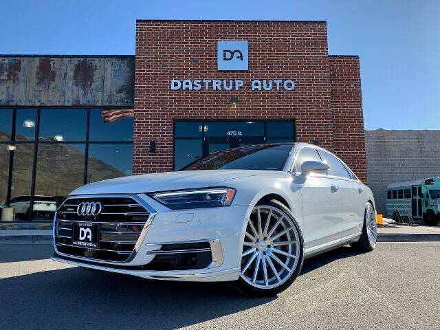 2019 Audi A8 L for sale at Dastrup Auto in Lindon UT