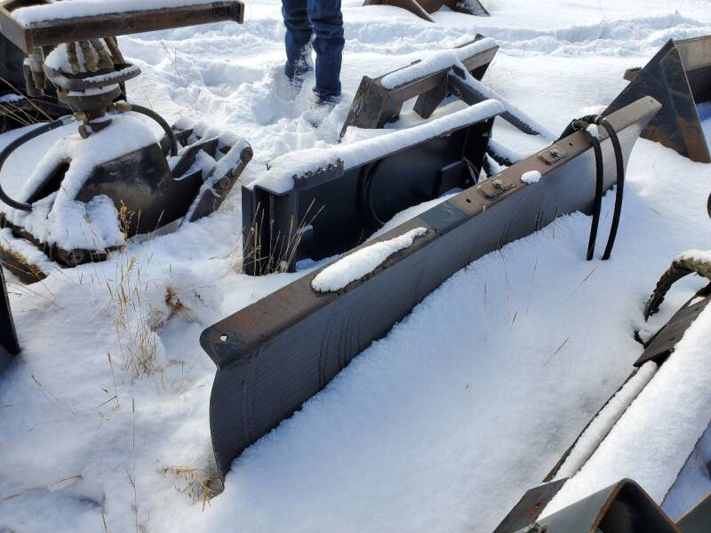 Cat 60 Inch Dozer Blade for sale at HIGH COUNTRY MOTORS in Granby CO
