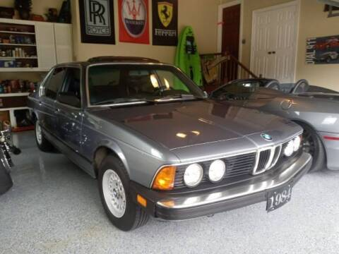1984 BMW 733i for sale at Classic Car Deals in Cadillac MI