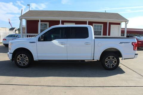 2016 Ford F-150 for sale at AMT AUTO SALES LLC in Houston TX