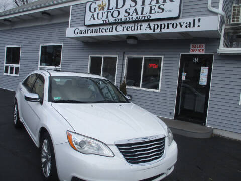 2012 Chrysler 200 for sale at Gold Star Auto Sales in Johnston RI