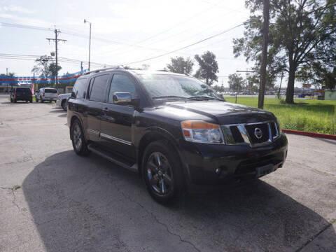 2014 Nissan Armada for sale at BLUE RIBBON MOTORS in Baton Rouge LA
