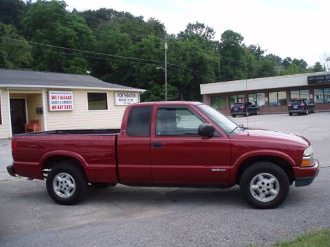 2003 Chevrolet S-10 for sale at Worthington Motor Co, Inc in Clinton TN
