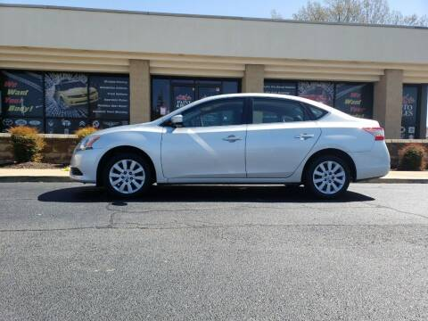 2014 Nissan Sentra for sale at Mike's Auto Sales INC in Chesapeake VA