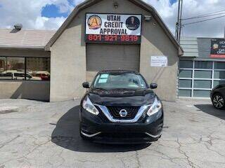 2016 Nissan Murano for sale at Utah Credit Approval Auto Sales in Murray UT